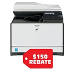 Sharp MX-C250 Color Desktop Laser Multifunction Copier (25ppm25ppm)