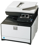 Sharp MX-C301W Color Desktop Laser Multifunction Copier (30ppm/30ppm)