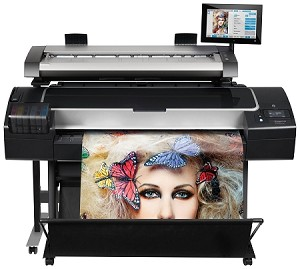 HP DesignJet HD Pro MFP with Encrypted Hard Disk