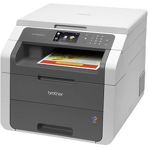Brother HL-3180CDW Digital Color Printer with Convenience Copying and Scanning (23ppm/23ppm)